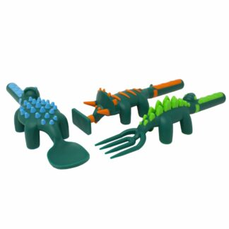 dinosaur shaped utensils
